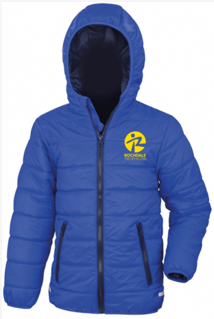 Rochdale Tri Club Junior soft padded jacket